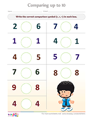 math worksheet : kindergarten math comparing numbers worksheets  educational math  : Math Comparison Worksheets