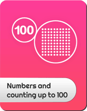 Numbers and counting up to 100